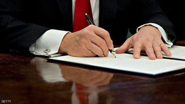 ترامپ گروه های خارجی مداخله گر در انتخابات آمریکا را تحریم می نماید