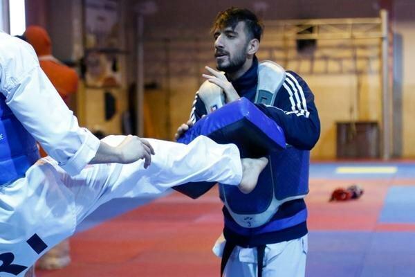 احمدی: برای کسب مدال طلا دورخیز نموده ام، آماده پیکار با رقبا هستم