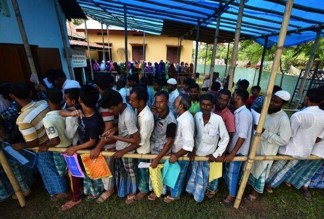 اعزام ده ها هزار نیروی امنیتی به ایالت آسام در آستانه اعلام اسامی شهروندان هند