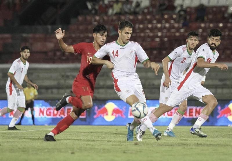 فوتبال انتخابی المپیک، شکست یک نیمه ای امیدهای ایران مقابل ازبکستان