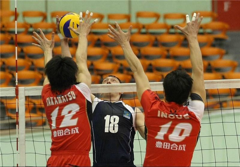 دست کوتاه ژاپنی ها مقابل قزاقستان